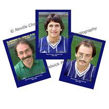 "Leicester City 1984-1985 Player Portraits , 7""x 5"" prints"