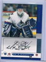 2005-06 Upper Deck Be a Player Signatures #DN Dan Cloutier NM-MT Auto Canucks