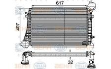 HELLA Radiador de aire admisión para VW GOLF SEAT AUDI A3 8ML 376 746-161
