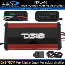 DS18 NXL-N1 Marine Monoblock Subwoofer Amplifier Powersport Boat Motorcycle Amp