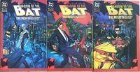 BATMAN SHADOW OF THE BAT #7 #8 #9 THE MISFITS 3 Part Story KILLER MOTH Tim Sale