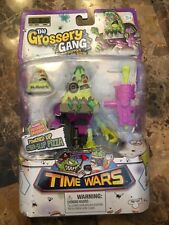 """Grossery Gang Series 5 Time Wars """"Cyber-Slop Pizza"""" Powered Up Action Figure"""