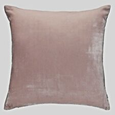 SOFT SMOOTH VELVET  PALE LILAC / HEATHER/ LAVENDER CUSHION COVER £6.59 EACH