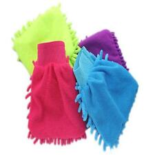 Super Mitt Microfiber Car Window Washing Cleaning Cloth Duster Towel Gloves KWKW