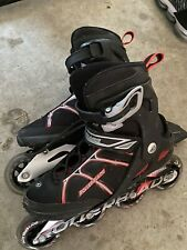 Rollerblade, Red And Black, Size 8