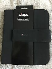 Zippo Collectors Case Holds Eight Lighters Black  Brand New