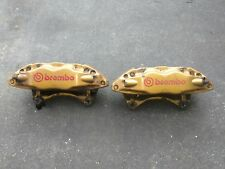 2004 Subaru WRX STI Brembo Brake Caliper Front Set Calipers 04-07