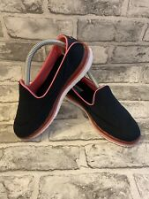 Navy Blue & Pink Skechers Go Flex Walk Size UK 6.5