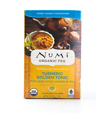 Numi - Turmeric Golden Tonic - Organic Herbal Tea - 12 Tea Bags