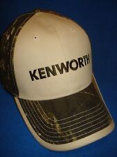 KENWORTH HAT:    MOSSY OAK /  CAMO  BACK CAP   *FREE SHIPPING*