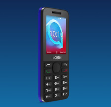 Brand New  Alcatel 2038X - 3G Mobile Phone / Blue / Unlocked to All UK Networks