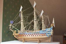 Französisches Segelschiff, historische Fregatte Le Soleil Royal 1:77