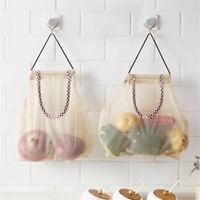 Vegetable Onion Potato Hanging Bag Kitchen Garlic Ginger Mesh Storage Bag NYFK