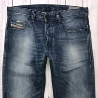 Mens DIESEL Safado Jeans W29 L32 Blue Regular Slim Straight Wash 0814A