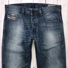 Mens DIESEL Safado Jeans W29 L32 Blue Regular Slim Straight Wash 0814A