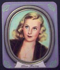 Lilian Harvey 1936 Garbaty Passion Film Star Embossed Cigarette Card #123