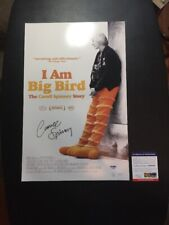 "Caroll Spinney Signed I Am Big Bird PSA 11""x17"" Poster Photo Autographed Rare"