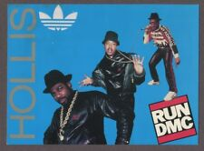 Run Dmc Hollis Queens 1987 Original Handbill Tour Concert Adidas Tougher J6272