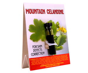 Mountain Celandine Balm Cosmetic Liquid Warts Removal 1.2ml