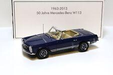 1:18 Norev Mercedes 230SL Pagode W113 *IAA 1963* blue NEW bei PREMIUM-MODELCARS