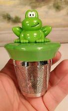 Joie Ribbit Frog Floating Stainless Steel Tea Cup Infuser - Loose Leaf Strainer