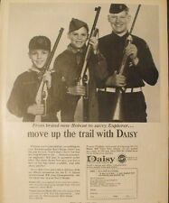 1966 Daisy BB Gun Pump~Rifles Bobcat Explorer~Cub~Boy Scouts Vintage Boys Toy Ad