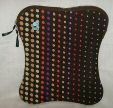 TABLET COVER NEOPRENE CASE SLEEVE BUILTNY LAPTOP NETBOOK BAG SKIN DOTS  ZIPPER