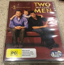 Two And A Half Men : Season 1 (DVD : 4 Disc Set) Brand New Sealed Region 4