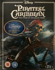 Pirates Of The Caribbean Curse Of The Black Pearl Blu ray  New Sealed