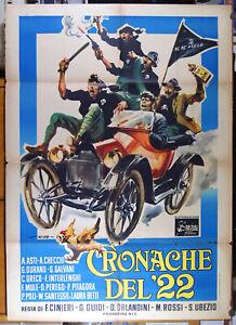manifesto 2F film CRONACHE DEL '22 Franco Interlenghi Cosetta Greco Adriana Asti