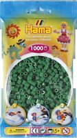 1000 Hama Dark Green, 207-10 Color Iron On Midi Beads