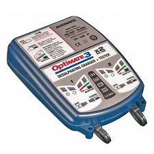OptiMATE 3 x 2 BANK 7-step 12V 0.8A Battery saving charger-tester-mainter TM-451