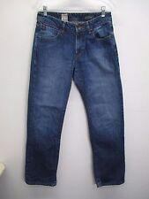 Men's Volcom Kinkade Jean medium wash classic straight leg denim size 30/31 EUC