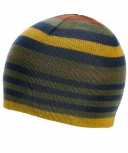 JOULES Baby Boy BEANIE HAT Knitted Multi Stripe Pattern | S/M 3 years