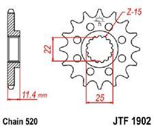 JT Sprockets Steel Front Sprocket 16T 520 Pitch JTF1902.16