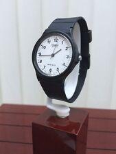 Casio Men's Watch Super Lightweight Slim Black Easy to read Genuine (799)