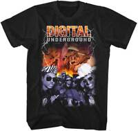 DIGITAL UNDERGROUND - Bootleg - T SHIRT S-M-L-XL-2XL Brand New Official Shirt