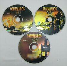 Commandos 2: Men of Courage (PC-CD, 2001) 3 CDs No jewel Case Rated T/Teen