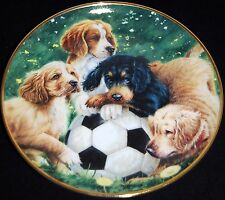 Soccer Scamps by James Killen ~ Aspca ~ Franklin Mint Collectors Plate