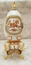 Ballet Carousel Horse Musical Real Egg Birthday Gift for her Only One 24k Gold