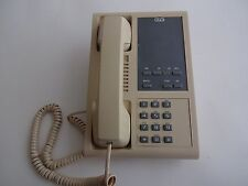Vintage 2 Line telephone Wall or Desk phone  Old Stock  Well made 1990 AE GTE
