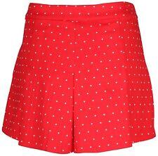 Nike Golf Womens Majors Moment Golf Short Red White 744809-657 Size 4