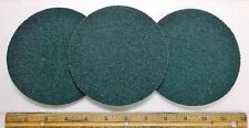 "3 - 5"" x NH Blue Very Fine Scotch-Brite J Hook Surface Conditioning Disk, #04303"