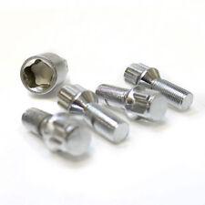Bloccaggio BULLONI RUOTA 12x1,25 NUTS rastremato per FORD KA 09-16 MK2