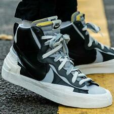 Sacai x Nike Blazer High BlackWhite UK8.5 US9.5 EU43 Waffle Swoosh OG