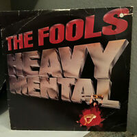 "THE FOOLS - Heavy Metal - 12"" Vinyl Record LP - EX"