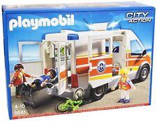 Ambulancia con Sirena