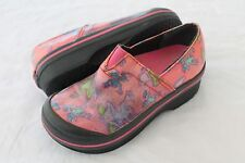 Dansko Vesta Pink Frogs Rain Clogs Girls Size 27  US 10