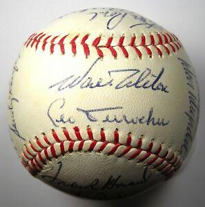 1963 Los Angeles Dodgers Team Signed Autographed Baseball Koufax - PSA/DNA LOA