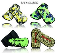 Kids Adults Light Protective Football Soccer Shin Pads Shin Guards New Design